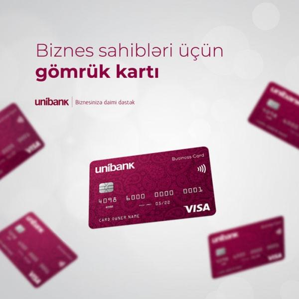 Unibank-dan Gömrük kartı almaq üçün 5 səbəb