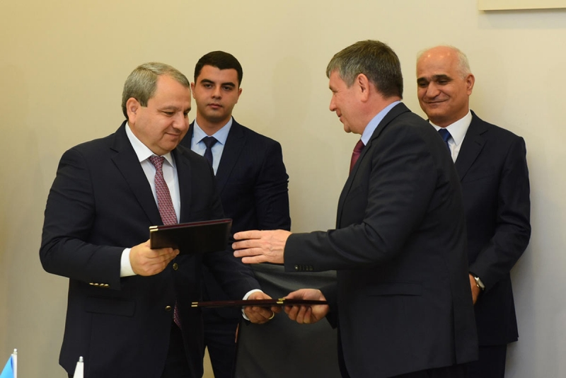 BDU ilə Ural Federal Universiteti arasında anlaşma memorandumu imzalanıb (FOTO)