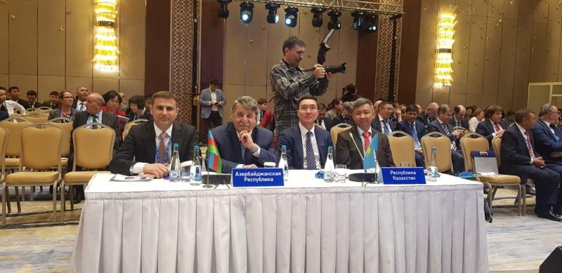 Əqli Mülkiyyət Agentliyinin nümayəndə heyəti Qazaxıstanda keçirilən diplomatik konfransda iştirak edib (FOTO)