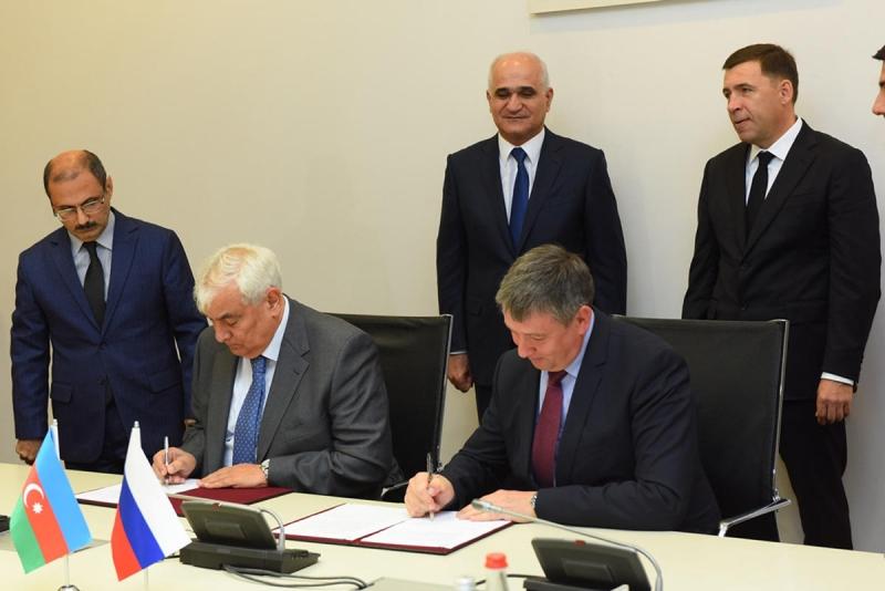 ADU və Ural Federal Universiteti arasında əməkdaşlıq müqaviləsi imzalanıb (FOTO)