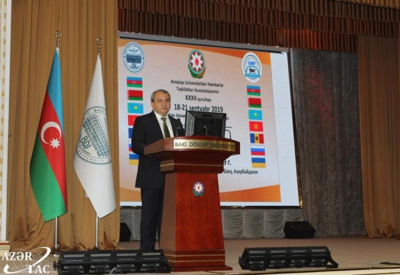 BDU-da Avrasiya Universitetləri Həmkarlar Təşkilatları Assosiasiyasının qurultayı keçirilib (FOTO)