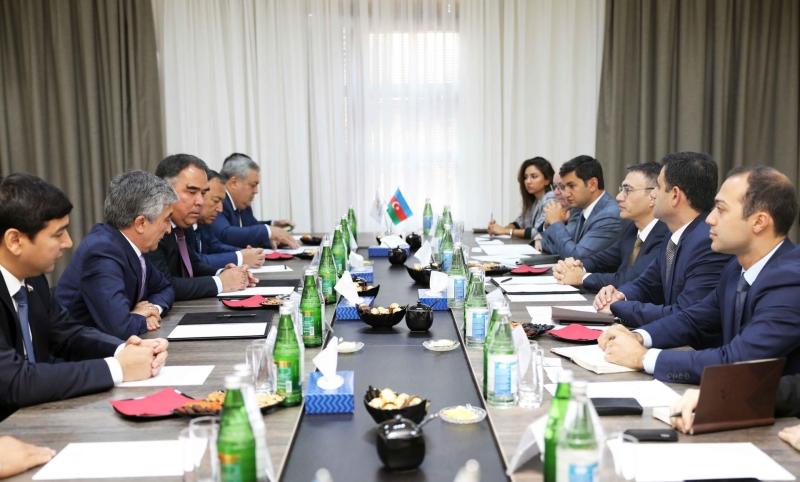"""""""AzerGold"""" QSC Tacikistanın nümayəndə heyəti ilə görüşüb (FOTO)"""
