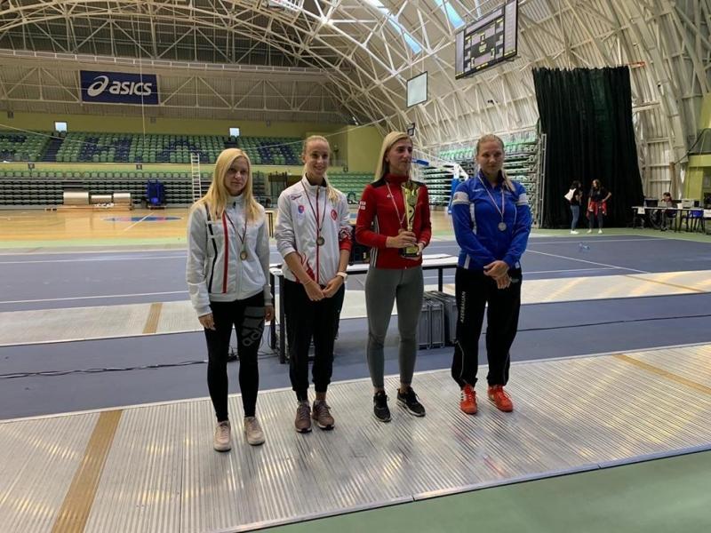 """Anna Başta """"Satellite"""" turnirində gümüş medal qazandı (FOTO)"""