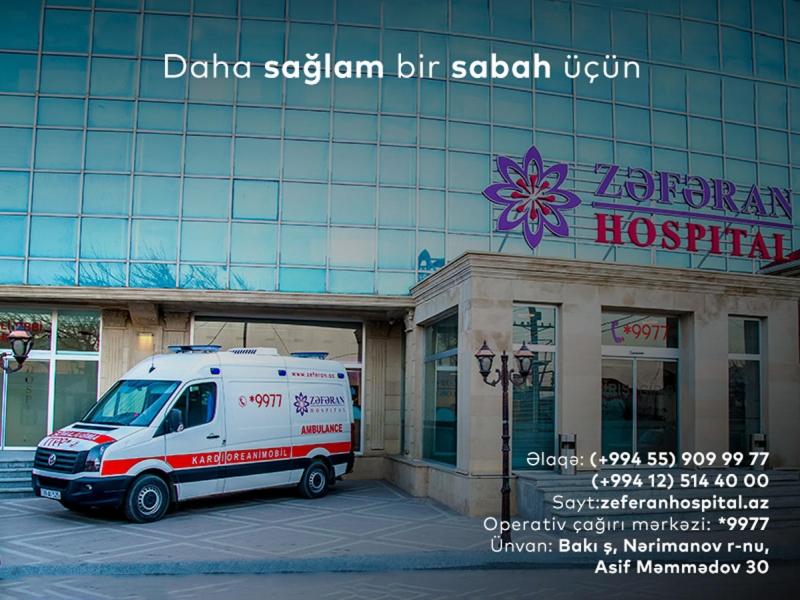 Zəfəran Hospital Yeni il qabağı kampaniyalara start verir (FOTO)