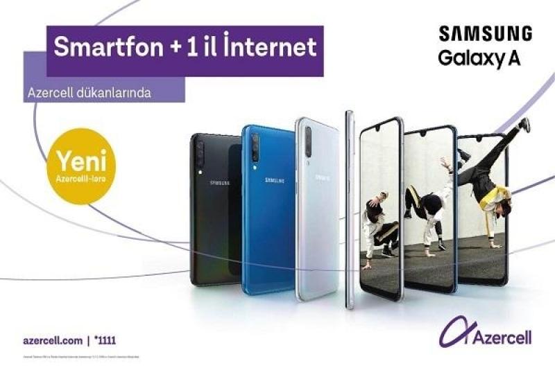 Azercell-dən Samsung smartfonları üçün xüsusi təklif!