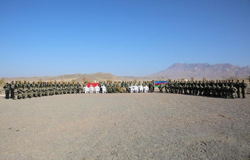 Naxçıvan Qarnizonu qoşunlarında növbəti snayper hazırlığı kursu uğurla başa çatıb (VİDEO)
