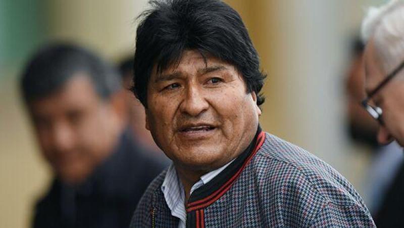 Boliviya polisi Moralesi saxlamaq istəyir