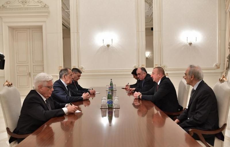 Sergey Lavrov: Biz Mehriban Əliyevanın Rusiya Federasiyasına səfərini yüksək qiymətləndirmişik