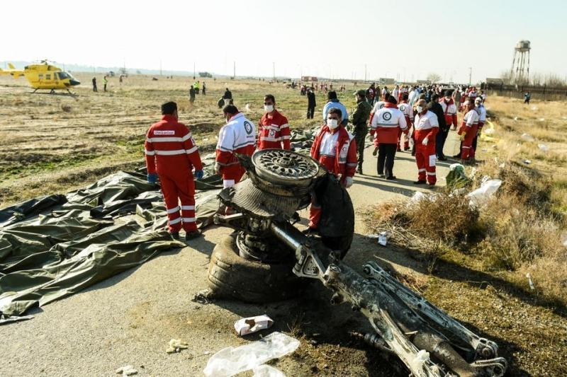 İran Ukrayna təyyarəsinin iki raketlə vurulduğunu bildirib