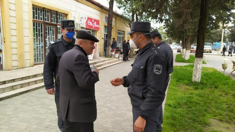 Astarada karantin rejimini pozanlara xəbərdarlıq edildi (FOTO)