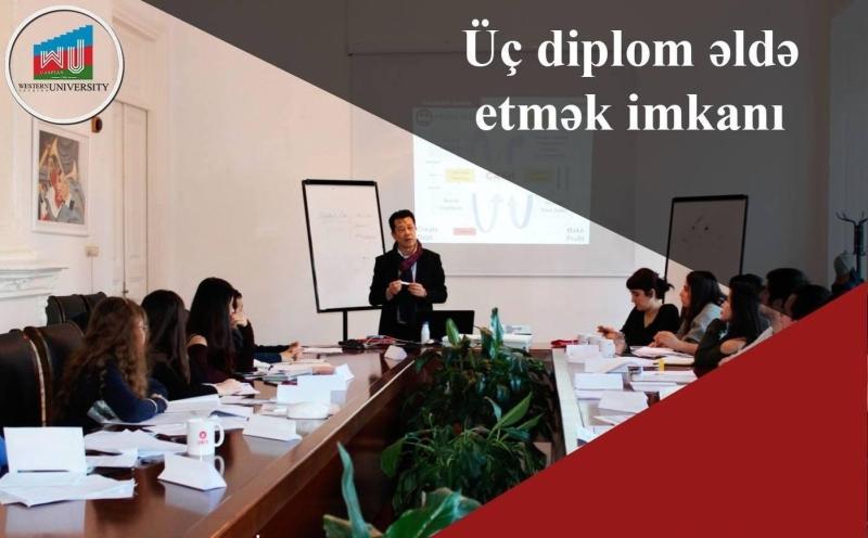 Qərbi Kaspi Universiteti magistratura pilləsində bu ixtisaslara qəbul elan edir