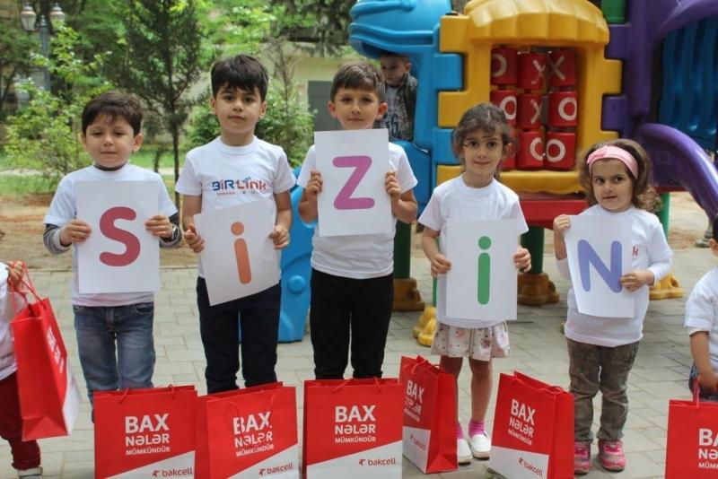 Bakcell uşaqlara internetdən təhlükəsiz istifadəni öyrədir (FOTO)