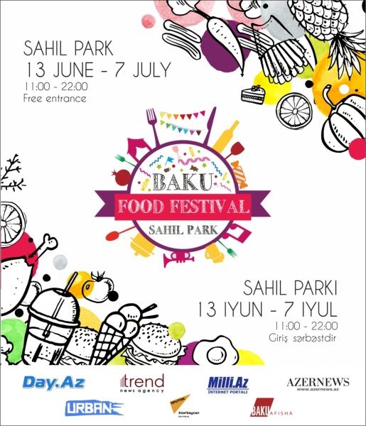 Sahil Bağında Baku Food Fest-in yubiley sezonu açılır