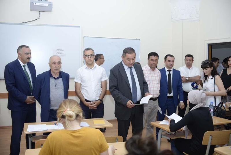 ADU-da imtahan sessiyasını izləmək üçün mediatur təşkil olunub (FOTO)