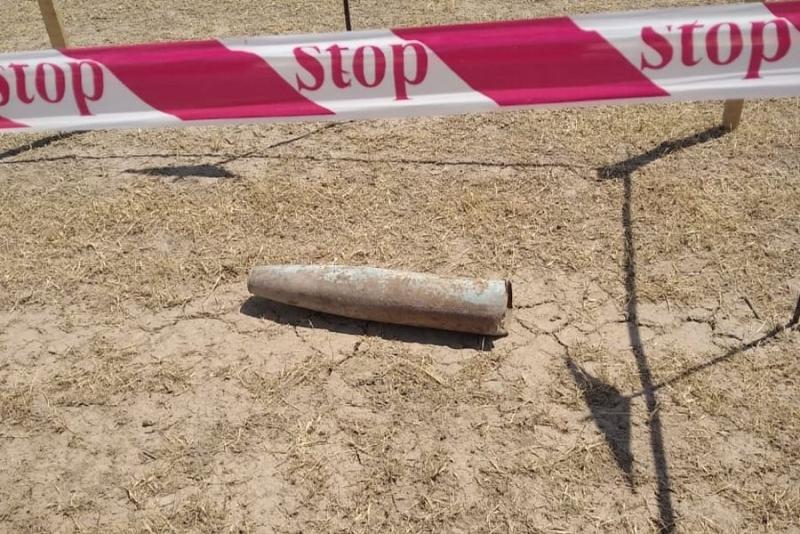 Füzulidə raketinin döyüş başlığı aşkarlanıb (FOTO)