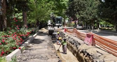 Qazaxda içməli su və kanalizasiya problemi həll edilir (FOTO)