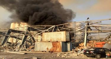 Beyrutda güclü partlayış nəticəsində ölənlərin sayı 70-ə çatıb (VİDEO) (ƏLAVƏ OLUNUB 5)
