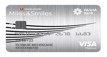 PAŞA Bank Miles&Smiles Visa Platinum 50% endirimlə: yeni mil kartı ilə müasir imkanlar daha da əlçatan oldu!