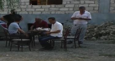 Gəncədə karantin rejimini pozan çayxanalar aşkarlanıb (FOTO)