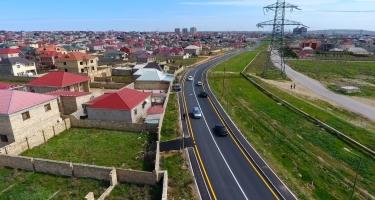 Abşeron rayonunda 23 küçə və yol təmir edilir (FOTO)