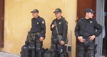 Kolumbiyada naməlum şəxslər polis məntəqəsi yaxınlığında qumbara partladıblar