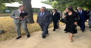 Heydər Əliyev Fondunun vitse-prezidenti Leyla Əliyeva Moskvada Azərbaycan Mədəniyyəti Günündə iştirak edib (FOTO)