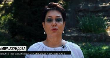 Ukraynanın müstəqilliyinin ildönümü münasibətilə Azərbaycan səfirliyi təbrik videosu hazırlayıb