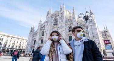 İtaliyada sutkada mindən çox koronavirusa yoluxma faktı qeydə alınıb