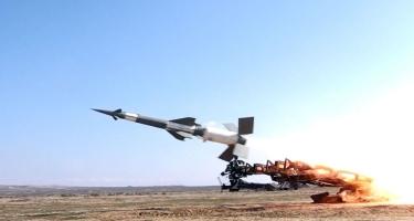 Suriyanın hava müdafiəsi qüvvələri raket hücumunu dəf edir