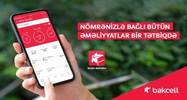 """""""Mənim Bakcellim"""" – mobil nömrə hesabınızı idarə etmək üçün ən rahat həll"""