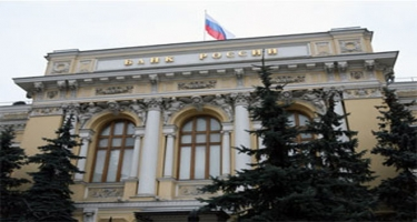 Rusiya Bankı uçot dərəcəsini dəyişməz saxlayıb