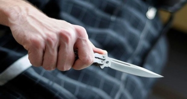 Şamaxıda arvadını bıçaqlayan şəxs saxlanılıb