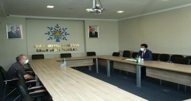 Deputat Naqif Həmzəyev seçiciləri qəbul edib (FOTO/VİDEO)
