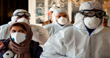 İranda sutka ərzində koronavirusa yoluxanların sayı 3 min nəfəri keçib