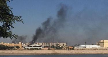 Bağdadın hava limanının yerləşdiyi rayon raket hücumuna məruz qalıb