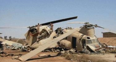 Liviyada hərbi helikopter qəzaya uğrayıb