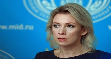 Zaxarova: Beynəlxalq ictimaiyyət bu gün Dağlıq Qarabağ münaqişəsi ilə bağlı nadir fikir birliyi nümayiş etdirir