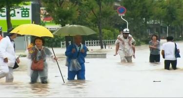 Sel-yağış Yaponiyanı yudu - 1 milyon sakin təxliyə olunur