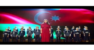 """Gənclər """"Ya Qarabağ, ya Ölüm"""" oxudular! (VİDEO)"""