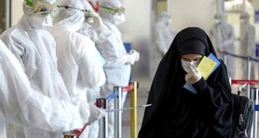 İranda sutka ərzində 8 293 nəfər koronavirusa yoluxub
