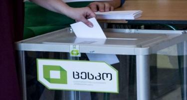 Gürcüstan parlament seçkilərində səsvermə proseduru başa çatıb