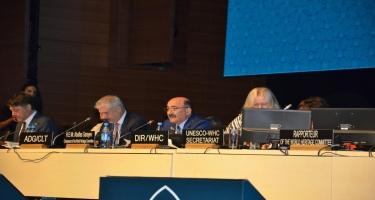 Ümumdünya İrs Komitəsinin 43-cü sessiyasında nominasiya faylları müzakirə olunur (FOTO)