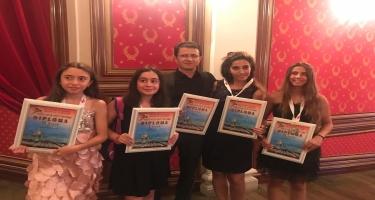 Gürcüstanda qala konsertə Azərbaycandan da iştirakçılar qatılıb (FOTO)