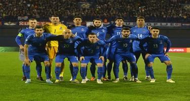 Azərbaycan millisi FIFA-nın reytinq cədvəlində 5 pillə irəliləyib