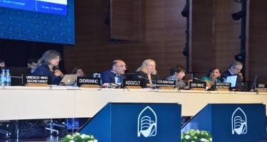 Dünya İrs Komitəsinin 43-cü sessiyasının son işçi iclası keçirilib (FOTO)