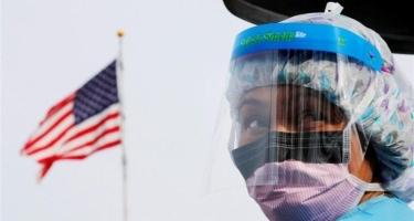 Ötən sutka ABŞ-da koronavirusdan rekord sayda ölüm halı qeydə alınıb