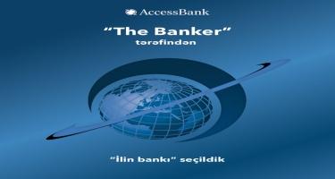 """""""AccessBank"""" """"The Banker"""" tərəfindən """"İlin bankı"""" seçilib"""