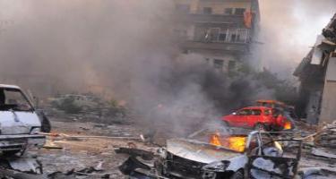 Suriyada partlayış: Yeddi uşaq ölüb