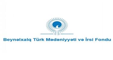 Beynəlxalq Türk Mədəniyyəti və İrsi Fondu Şəkinin ümumdünya irsi olması ilə bağlı bəyanat yayıb