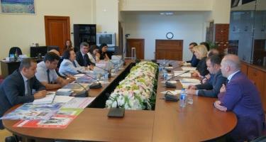 Ombudsman Avropa Şurası İnsan Hüquqları üzrə Komissarını qəbul edib (FOTO)